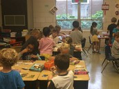 Kindergarten French Immersion Class in Action