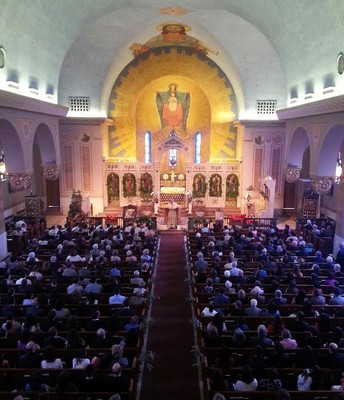 St. Andrew Greek Orthodox Church, Nave