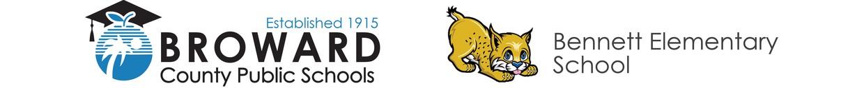 Broward County Public Schools Logo - Bennett Elementary School