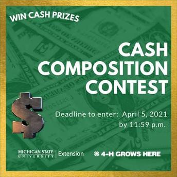 Cash Competition Contest