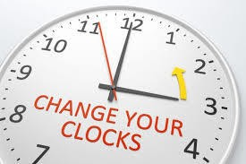 Change your clocks!