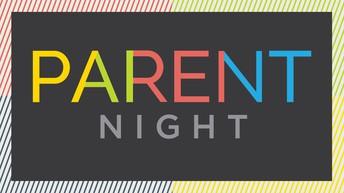 Parent Night 1st-5th