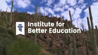 Institute for Better Education (IBE)