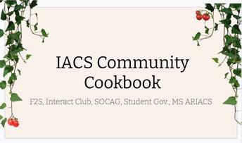 Help Create Our IACS Community Cookbook!
