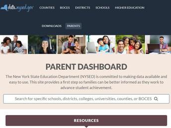 Parent Data Dashboard