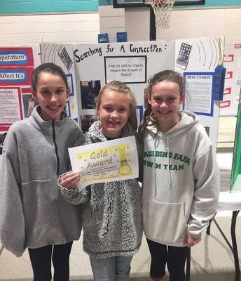 5th Grade Team Winners