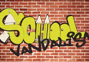 Classroom Vandalised During Foreshock?