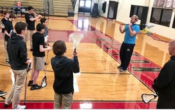 Former Pro Lacrosse Player Introduces Sport to GWA Students