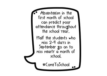 Attendance Adds Up Weekly Tip