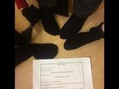 Soggy socks!