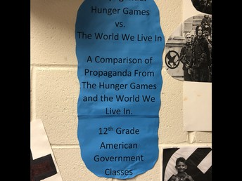 Propaganda:  Hunger Games vs. The World We Live In