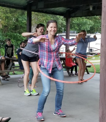 Which Fronk will show off their hula hooping talent???