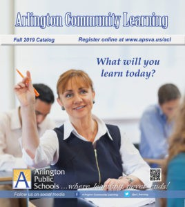 The Arlington Community Learning Program Fall Registration Now Open
