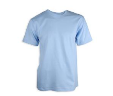 Light Blue Gym T-shirt with Logo