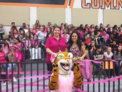 CMS at CHS Pink Out Pep Rally!