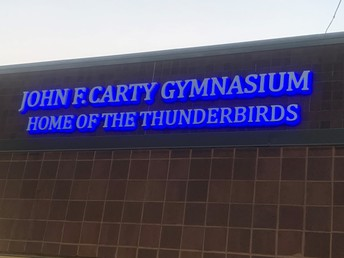 Welcome to the Thunderbird Gymnasium