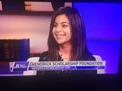 "The Hendrick Scholarship Foundation on NBC ""5 Talk Street"""