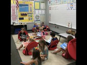 Students across Geist are building stamina at READING!