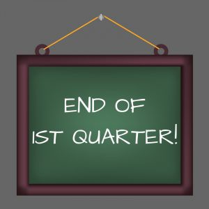 Marking Period 1 will end this month