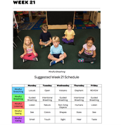 Mindful Classrooms--Week 21