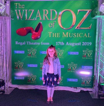 Charlotte in the Wizard of Oz