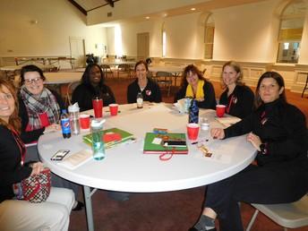 Faculty Staff Retreat at St. Peter's School, Beaufort, SC