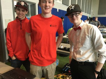 Robotics Team Qualifies for World Championship