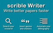 Google Tech Spotlight of the Month:  Scrible Edu and Scrible Writer