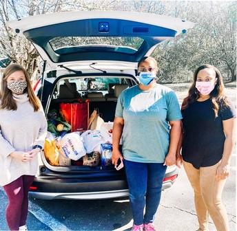 Donation of Food Items to Pilgrims Inn