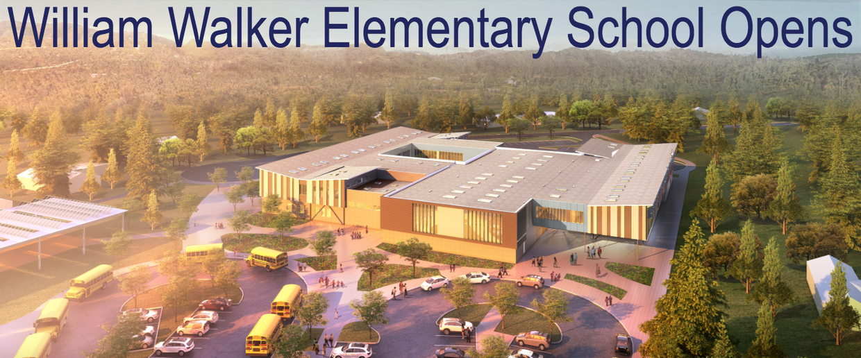 William Walker Elementary School Opens