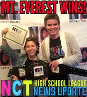 MEA Improv Team at the National Comedy Theatre