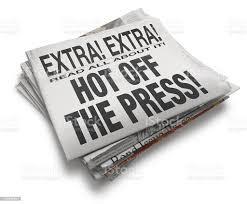 Hot Off the (virtual) Press!