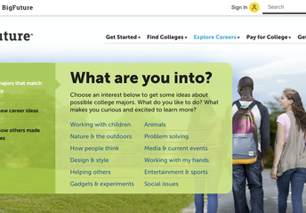 College Board: Explore Careers & Majors