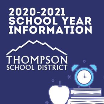 Thompson School District 2020-21 School Year Update