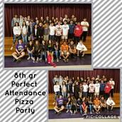 8th Grade 1st Quarter Perfect Attendance