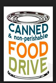 Thursday, 11/15   Canned Food Drive!