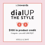 100 in Product Credit Rewarded to: