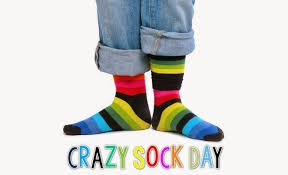 Wear Crazy Socks!