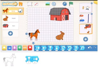 Scratch Jr Example from 2nd Grade