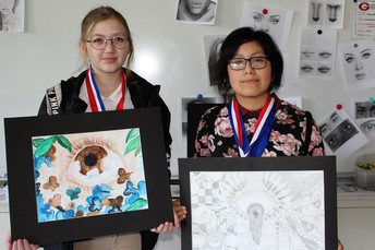 GJH Competes in Junior Visual Arts Scholastic Event (VASE)