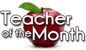 Teacher/Staff of the Month!