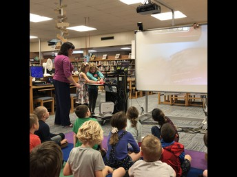 Library with Mrs. Hutcherson