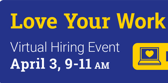 Virtual Hiring Event  - Meet your Career Match