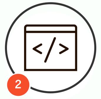 Use HTML Code