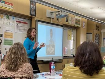 Professional Development for Teachers, Mrs. Woodard Presents