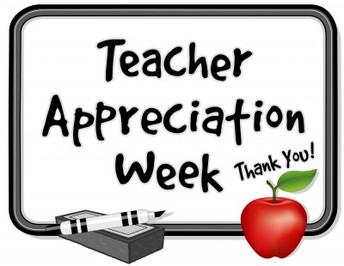 TEACHER APPRECIATION - THANK YOU!