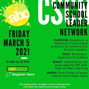 ABC Community School Leader Network