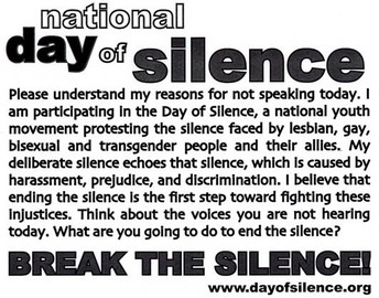 Why Day of Silence?