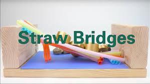 Make a Straw Bridge