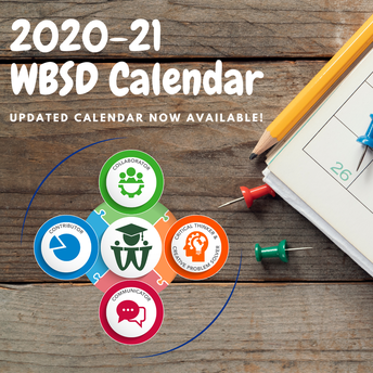 WBSD 2020-21 School Year Calendar Released!